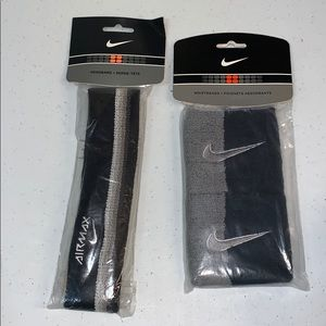 new nike wristbands and a headband new with tags!